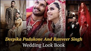Deepika Padukone and Ranveer Singh wedding look book