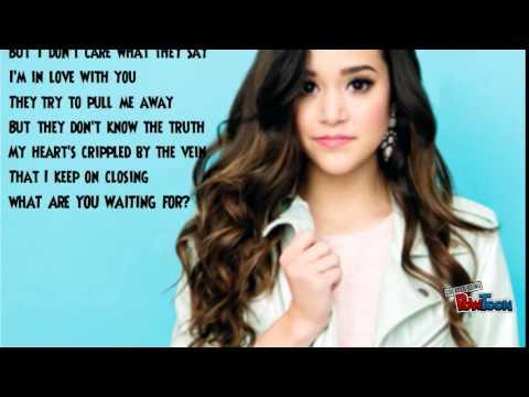 Megan Nicole Love Song Mash Up (Lyrics)