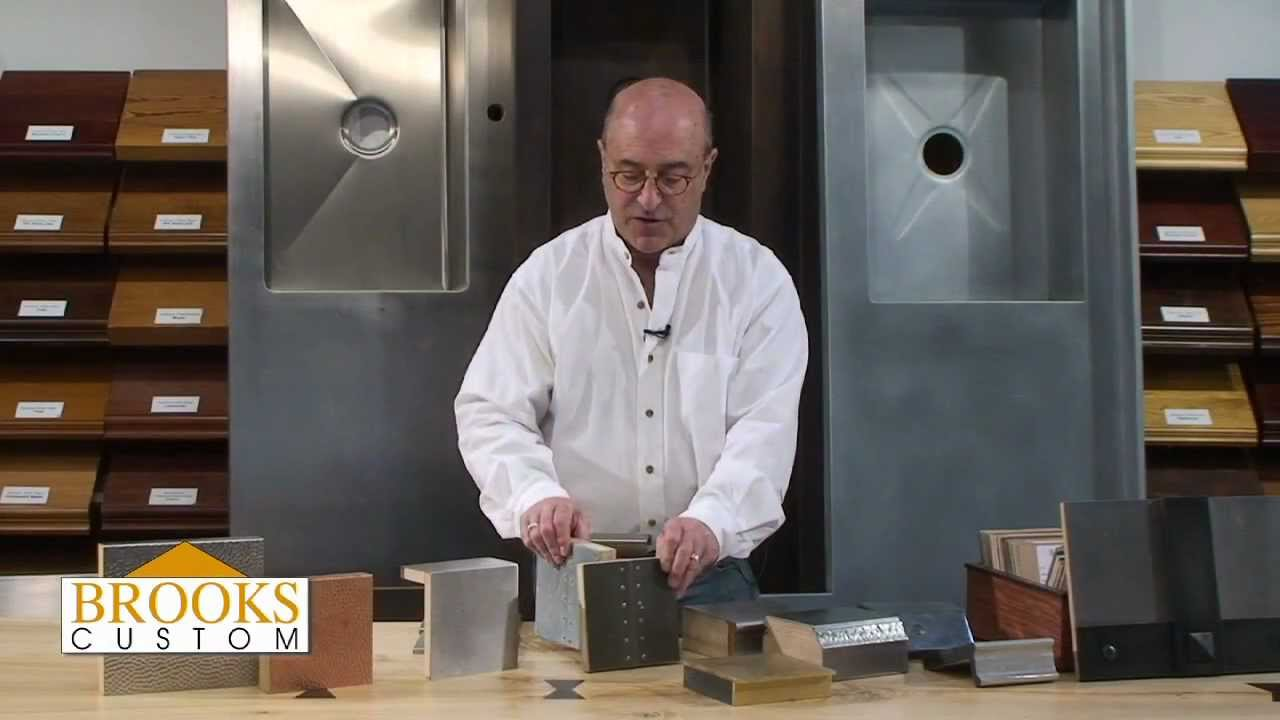 Zinc Countertops Video Brooks Custom