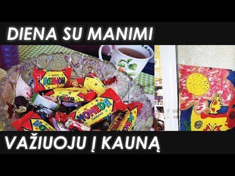 #VLOG: Važiuoju į Kauną pas mamą | Kurią mokyklą lankiau? | Justes Grozio  Kanalas