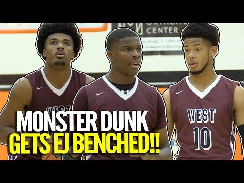 EJ Liddell Gets BENCHED At Washington Tournament of Champions!!!