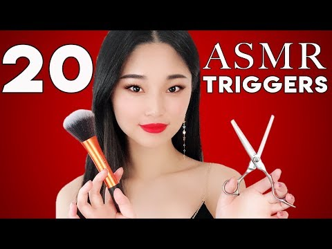 [ASMR] For People Who Don't Tingle ~ 20 Popular ASMR Triggers