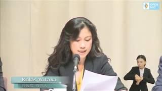 20180927行政院會後記者會 (第3619次會議)