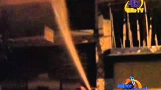 Incendio arrasa dos pisos de carpintería en Villa El Salvador