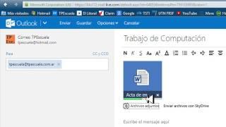 Como Enviar un E-mail en el Nuevo OutLook