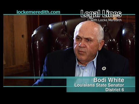 LA. Senator Bodi White Discusses Education, Transportation, & Crime