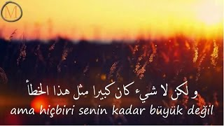 أغنية تركية قمة الروعه مترجمة Tuna Velibaşoğlu - Tanrım Bizi Azad Et