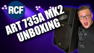New Speakers | RCF Art 735a MK4
