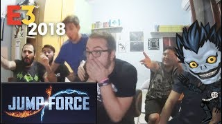 Jump Force LIVE Reaction - E3 2018 MICROSOFT