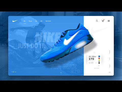 Website UI Design Tutorial 2019 | Learn UI UX Designing In Adobe XD