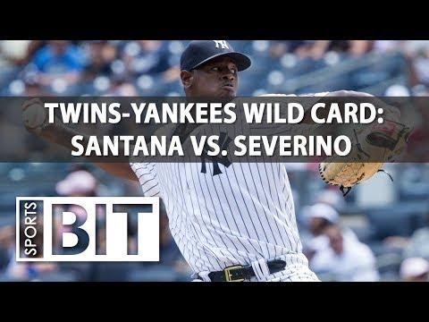Twins at Yankees AL Wild Card Game | Sports BIT | MLB Picks