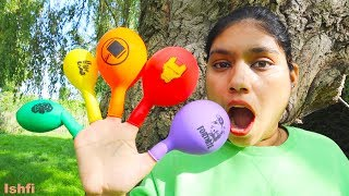 Fun  Play with Balloons and Learn Color from Ishfi