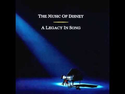 The Music of Disney - A Legacy in Song 3 CD Set