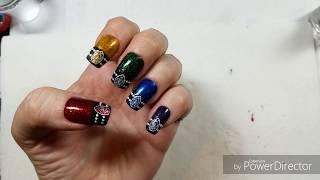 Gemstone Stamping Collab with Judinka Nail Art