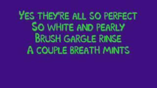 My Shiny Teeth and Me with lyrics