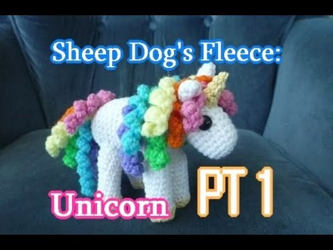 Unicorn Amigurumi PT 1 – Crochet Tutorial
