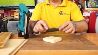 видео Аккумуляторные степлеры и гвоздезабиватели