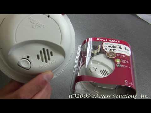 120v first alert smoke detector sa4919