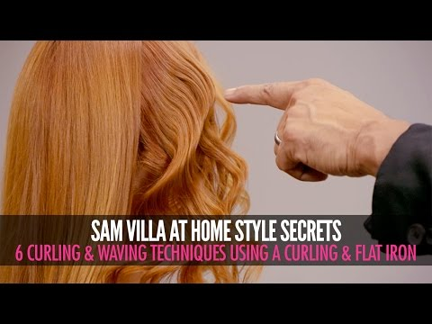 6 Different Ways To Curl Your Hair | Sam Villa