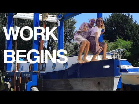 The NASTY work begins on the BARGE! The NEW Barging Lifestyle! Sailing Ocean Fox Ep 174