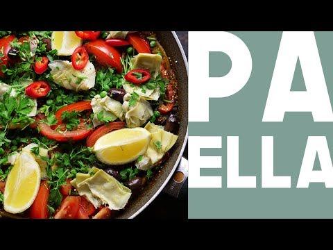 Vegetarian Paella Style Quinoa | Eat for happiness | Vegan
