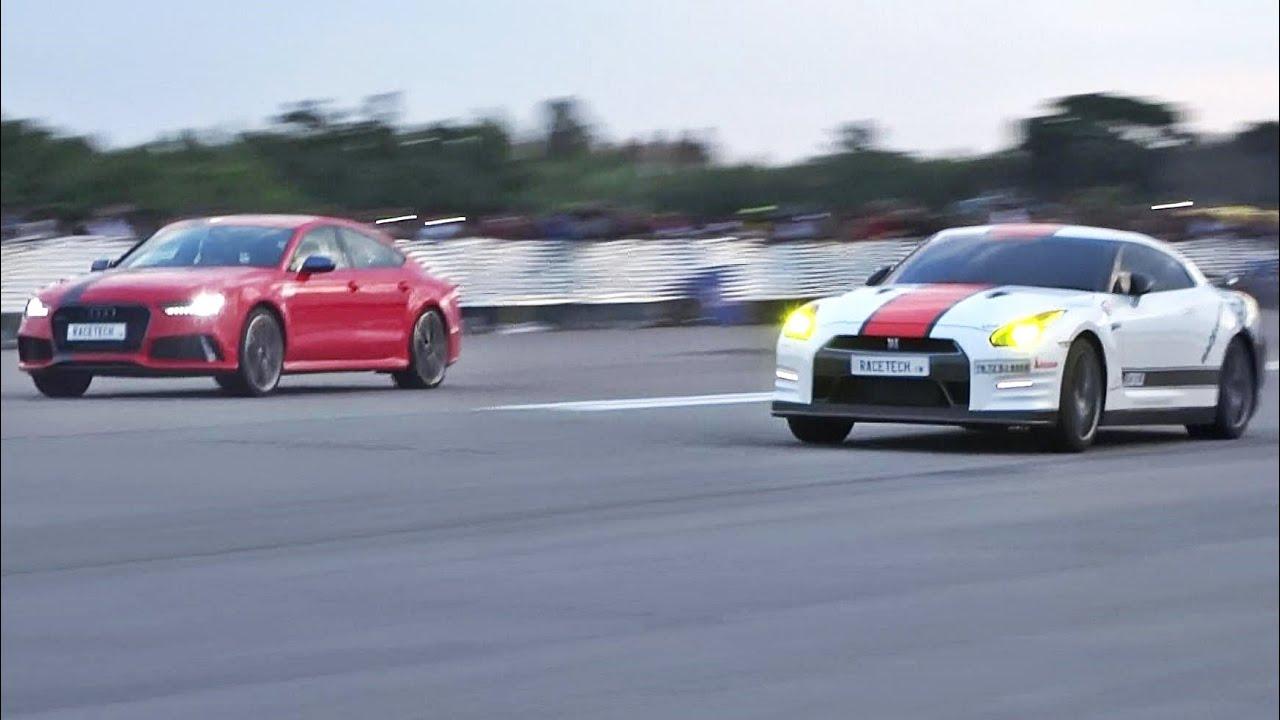 Audi Rs7 Vs Nissan Gtr Youtube Upcomingcarshq Com