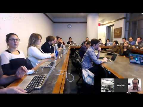 Part II, 5pm EST Feb 4th MIT - Brooklyn Law Hangout