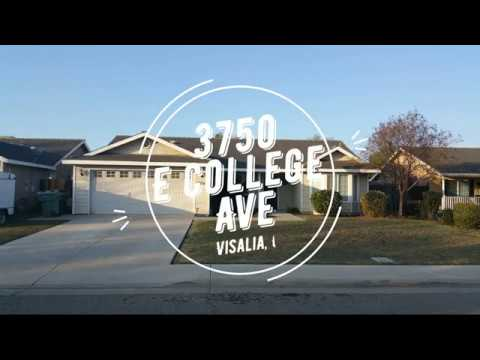 Home for Sale! 3750 E College Ave, Visalia