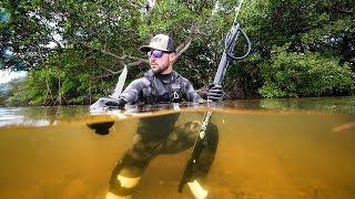 Stranded On ISLAND In Ocean SURVIVAL Challenge!! (spearfish) | Jiggin' With Jordan