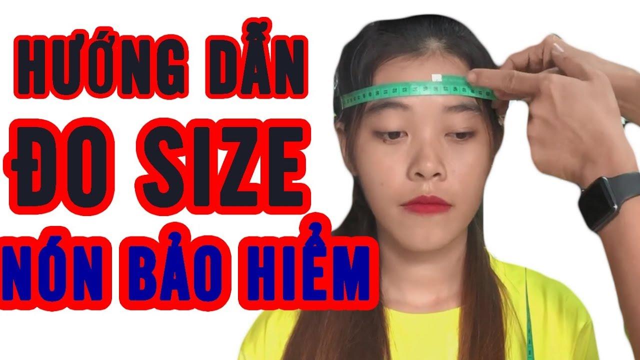 Cách Đo và Chọn Size Mũ Bảo Hiểm 3/4 Fullface Chuẩn Xác
