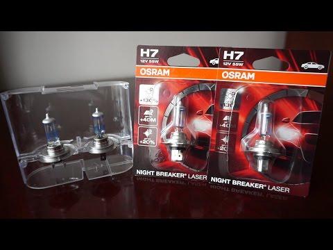 2x OSRAM Night Breaker Laser H7 Car Headlight Bulbs 55W 130/% Twin Duo LASER H7