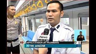 Penjelasan Kepala Stasiun LRT Palembang Terkait Kegiatan Asian Games - iNews Siang 18/08