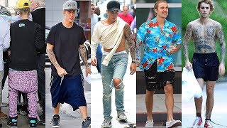 Justin Bieber street style, fashion style ★ 2019