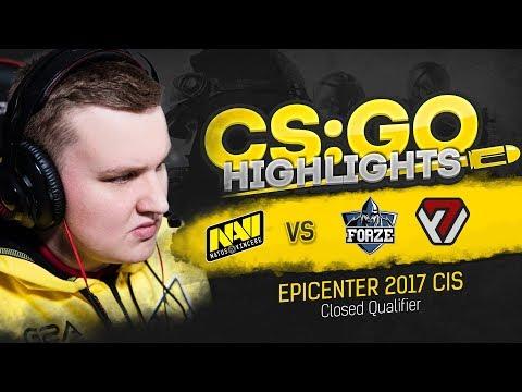 CSGO Highlights: NAVI vs forZe, AVANGAR @ EPICENTER 2017 CIS Closed Qualifier