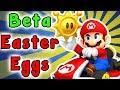Mario Kart DS - Beta SECRETS And EASTER EGGS