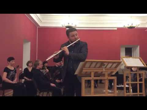 """Ilja Dvoretskiy (flute) - """"Be still my soul"""" - Rhonda Larson"""