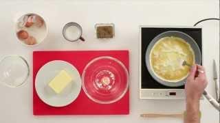 Как приготовить классический омлет