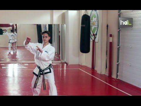 HDL Joaquín Moreno, una carrera meteórica en el taekwondo español