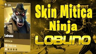 Fortnite Save the World ? Skin Mythical Ninja Werewolf ? Lobuno
