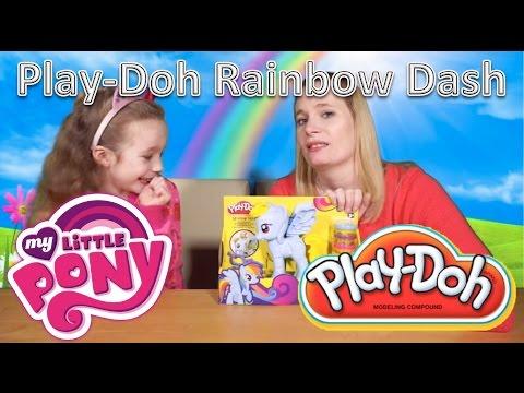 My Little Pony Play-Doh Rainbow Dash Style Salon Playset