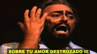 Pavarotti- Vesti la Giubba (Subtitulada Español) HD (Ridi Pagliaccio)