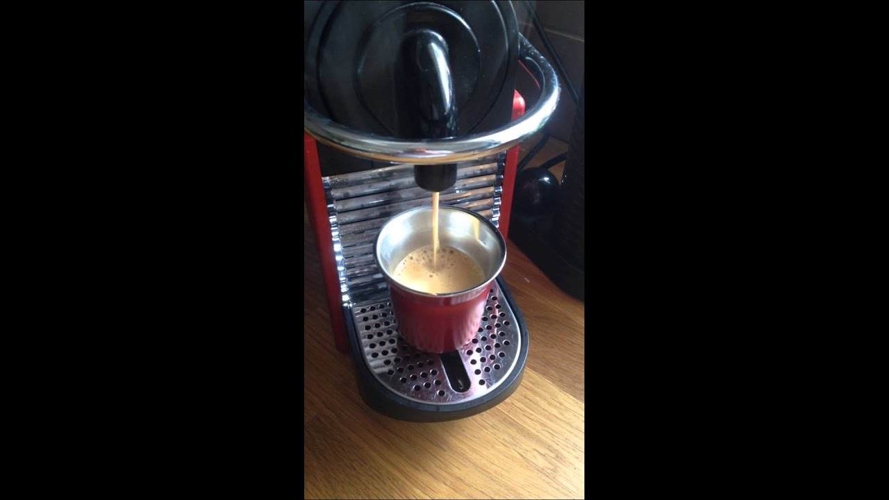How to work a Nespresso Machine - YouTube