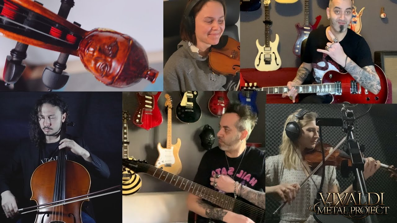 Prelude of the Titans (F. Corapi) - Collage video from the recording sessions for the new album