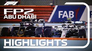 2019 Abu Dhabi Grand Prix: FP2 Highlights