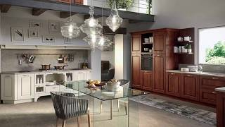 Inviting Modern Vintage Kitchens with Enchanting Woodsy Warmth!