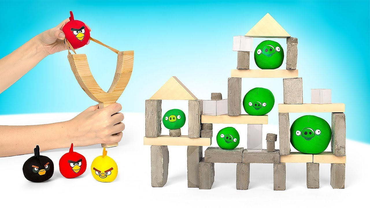 มาทำเกมส์ Angry Birds DIY ของจริงกันเถอะ !