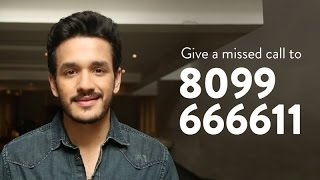 give a missed call to akhil