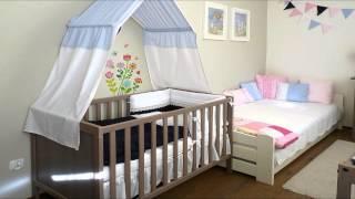 Балдахин на детскую кроватку(Видео-блог о дизайне, архитектуре и стиле. Идеи для тех кто обустраивает свой дом, квартиру, дачу, садовый..., 2014-01-29T19:41:43.000Z)