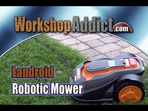 Worx Landroid Wg794 Robotic Mower Installation Tip