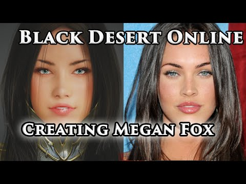 How YOU can play as Megan Fox in Black Desert Online on PS4!